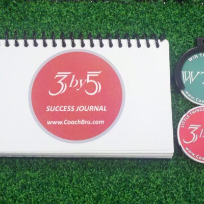 3 by 5 book and reminder key chain