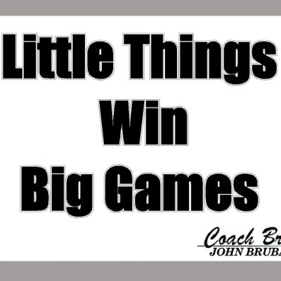 LITTLE THINGS SIGN