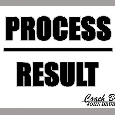 PROCESS OVER RESULT SIGN
