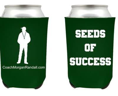 SEEDS OF SUCCESS KOOZIE EXAMPLE