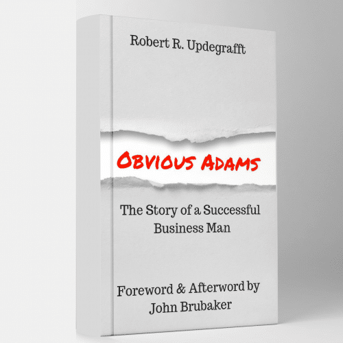 Obvious Adams, Forward & Afterward by John Brubaker